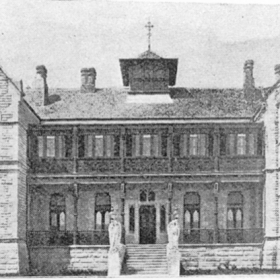 The Archiepiscopal Residence-Manly c1894. Source-Moran-Cardinal Patrick Francis-History of the Catholic Church in Australasia opp. p.200