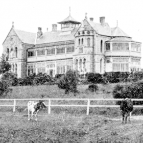 The Archiepiscopal Residence c1902 Source-Quinn-P.E.-Ed-His Eminence-Australias First Cardinal p.58