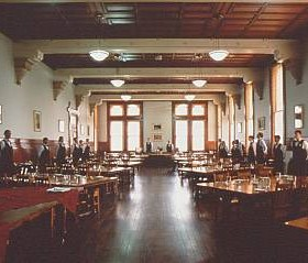 The Dining Room in Moran House at the International College of Management-Sydney.Source-ICMS 1995
